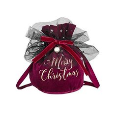 LLS Christmas utenciles Christmas Bag Bag Decoration Items Children Candy Bag Gift Bag Christmas Home Decoration Accessories Beautiful Appearance (Color : Wine red, Size : 100pc) Christmas Bags, Christmas Home, Decorative Items, Decorative Accessories, Retail Bags, Delivery Bag, Fabric Gift Bags, Wedding Welcome Bags, Produce Bags