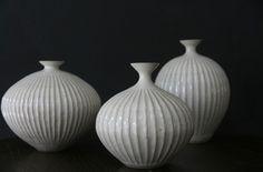 Heath Ceramics Japan's Starnet vases.
