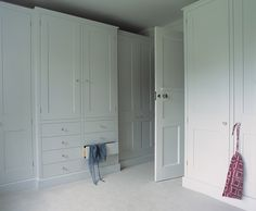wow, look at this dressing room. Bespoke Designer Kitchens - Arts and Crafts House 2