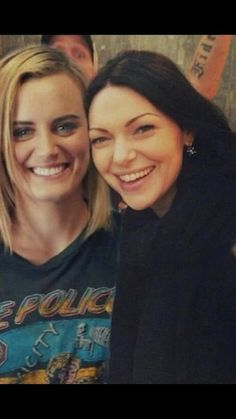 Laura Prepon And Taylor Schilling Taylor Schilling Laura Prepon, Alex And Piper, Piper Chapman, Alex Vause, Clexa, Lesbian Love, Orange Is The New Black, Girl Crushes, My Girl