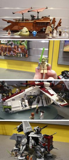 New LEGO Star Wars Sets, I'm sure these will make there way into our home soon enough.