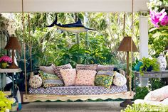 Porch Swing Sofa Front Yard Outdoor ᴷᴬ