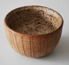Lene Regius, bowl in stoneware, own studio Denmark.