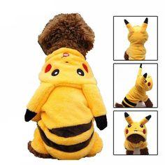 Cute Pikachu Dog hoodie