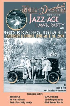 """1920's Jazz Age Lawn Party"" -- I found this when I pinned this ... http://www.pinterest.com/pin/507710557964568370/"