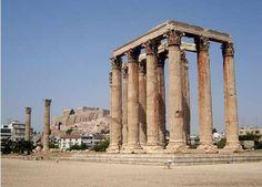 Athens, Greece - Temple of Zeus European Road Trip, European Travel, Shore Excursions, Acropolis, I Want To Travel, Athens Greece, Ancient Greece, Egypt, Temple