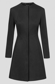 Best 11 The Buxton coat is a waisted dress coat that is often worn as a special occasion piece. Designed to have an upright collar that can be folded down to create… – SkillOfKing. Frock Fashion, Abaya Fashion, Fashion Dresses, Fashion Coat, Caftan Dress, Coat Dress, Abaya Mode, Hijab Stile, Mode Mantel