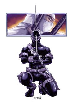 Toys & Hobbies products for sale Arte Ninja, Ninja Art, Comic Books Art, Comic Book Heroes, Comic Art, Storm Shadow, Shadow Art, Snake Eyes Gi Joe, Samurai