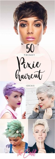 50 Best Styling Ideas for the Pixie Haircut