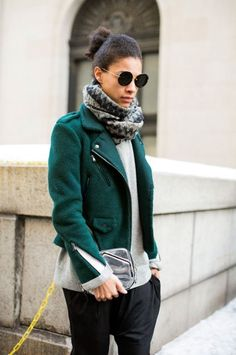 Photos: Street Style: New York Fashion Week Fall/Winter 2014 | Vanity Fair