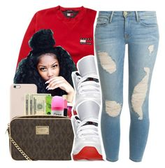 A fashion look from February 2017 featuring red crop top, ripped jeans and mens dress shoes. Browse and shop related looks. Cute Outfits For School, Cute Swag Outfits, Stylish Outfits, Summer Outfits, Girl Outfits, Fashion Outfits, Fashion Weeks, Fashion Shoes, Dope Fashion