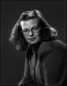 Erich Hartmann, USA. New York City. 1940s. Shirley JACKSON