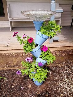 Bird Bath Planter