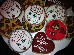 I Love Lucy Cookies