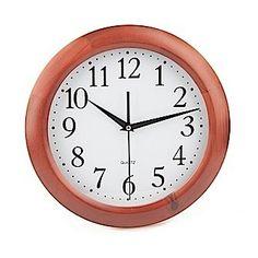 Reloj Madera Cerezo Pared Cocina Precio Devuelving:   26,98€  Precio en tienda:   40,47 €  Entrega aproximada entre el 27 de abril y el 01 de mayo  Descripción del producto:  RELOJ MADERA CEREZO PARED COCINA 30 cm.