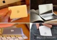 Super Cute Mini Macbook Compact Makeup Mirror