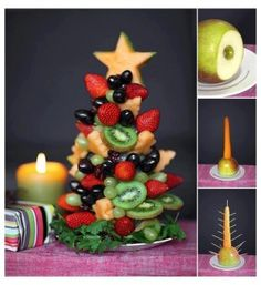 Fruit kerstboom