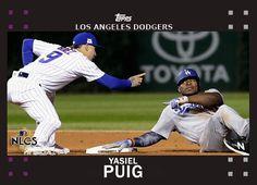 Fantasy Baseball Cards from Game 3 - Yasiel Puig