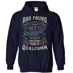 CPN6996 God found strongest woman QUALCOMM - #teacher gift #handmade gift. BUY NOW => https://www.sunfrog.com/LifeStyle/God-found-strongest-woman-7740-NavyBlue-17094565-Hoodie.html?68278