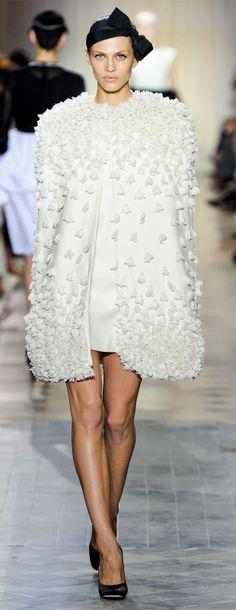 Aymeline Valade for Giambattista Valli Haute Couture FW 2011-2012