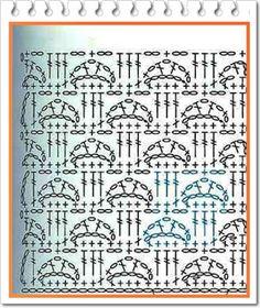 PATRONES=GANCHILLO = CROCHET = GRAFICOS =TRICOT = DOS AGUJAS: GRAFCOS AL CROCHET= PATRONES A GANCHILLO=TODO GRATIS
