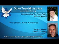 Prophecy and America - Jan Markell interviews Pastor JD Farag on Understanding the Times radio  4.9.16 (9 minutes - a link to the entire radio show is in the description)