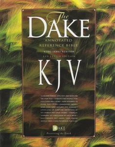 KJV Dake's Annotated Reference Bible (Product Catalog)