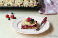 Sbriciolata+ai+frutti+rossi+(Streuselkuchen)