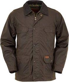 Mens Quilted Hunter Jacket Fleece Lined Warm Winter Overcoat Brown Navy