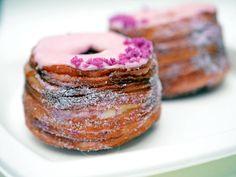 The #cronut! (croissant + doughnut). Amaze.