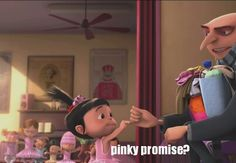 Image uploaded by Things That Inspire. Find images and videos about pinky, promise and despicable me on We Heart It - the app to get lost in what you love. Movies Showing, Movies And Tv Shows, Tumblr, Agnes Despicable Me, We Heart It, Illumination Entertainment, Universal Pictures, Great Movies, Make Me Smile