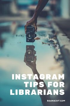 Instagram tips for librarians to really show off your library and all it has to offer.   instagram tips | technology for librarians | librarians | librarian tips and tricks