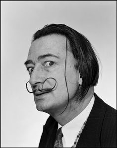 SALVADOR DALI......1954........PHOTO BY PHILIPPE HALSMAN................ON MAGNUM PHOTOS.....