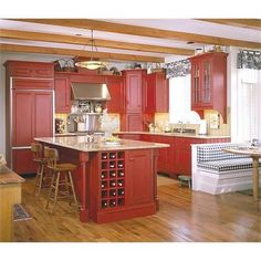 Traditional Cabinet from Black Cove Cabinetry, Model: Bungalow Kitchen