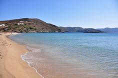 Fantastic water in Delfini beach Syros island Greek Islands, More Photos, Beaches, Greece, Europe, Water, Travel, Outdoor, Greek Isles