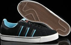 Adidas men Campus Vulc black/blue/red/white Skate Shoes Low HOT SALE! HOT PRICE!
