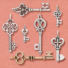 A little mysterious and a lot of style, our key collection has it all. #JamesAvery