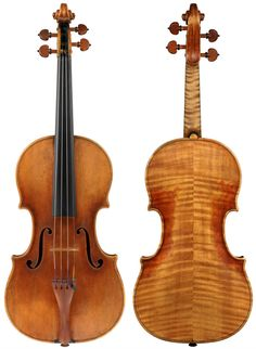 The 1715 'Marsick' Stradivari – it was love at first sight for Ehnes. Photos: John K. Becker & Company