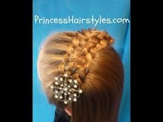 Folded Braid Headband Hairstyle Video Tutorial