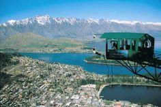 Le Ledge Bungy à Queenstown en Nouvelle Zélande (AJ Hackett Bungy)