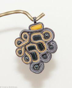 Soutache necklace. Soutache Necklace, Drop Earrings, Jewelry, Jewlery, Jewerly, Schmuck, Drop Earring, Jewels, Jewelery