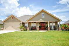 Houseplans.com Country / Farmhouse Front Elevation Plan #430-83