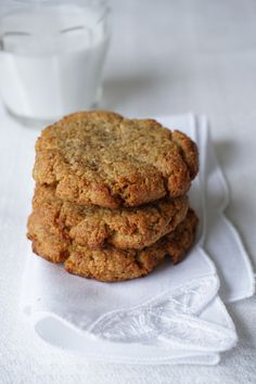 Apricot N'Oatmeal Cookies with a gelatine egg--egg free! ( I'll use flax eggs ) Paleo Dessert, Dessert Recipes, Desserts, Paleo Sweets, Paleo Recipes, Cookie Recipes, Alkaline Recipes, Paleo Cookies, Sugarless Cookies