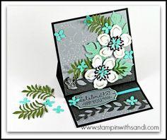 Stampin Up Botanical Blooms card by Sandi @ www.stampinwithsandi.com