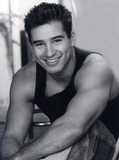 mario lopez. saw him at my school :) so sexy