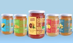 Secrets d'Energie - Marmelades on Packaging of the World - Creative Package Design Gallery