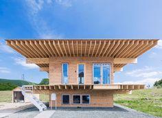 Jun Igarashi . Hat H . Engaru 5,5x5,5m house