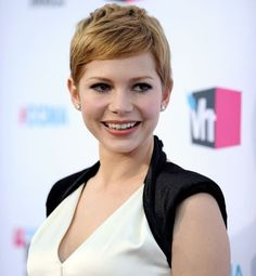 Short hair - Le blond vénitien de Michelle Williams