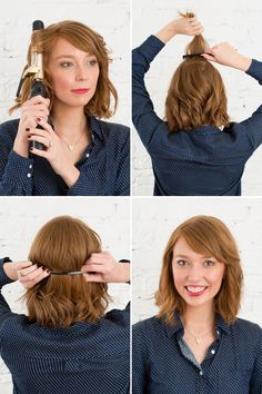 Steal Emma Stone's look with this hair tutorial.