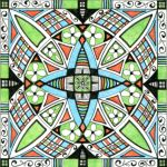 Mandala ART. Artist Lize Beekman